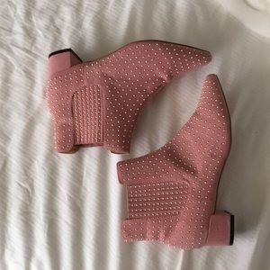 Pink topshop boots